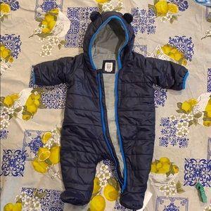 Baby Gap dark blue snowsuit